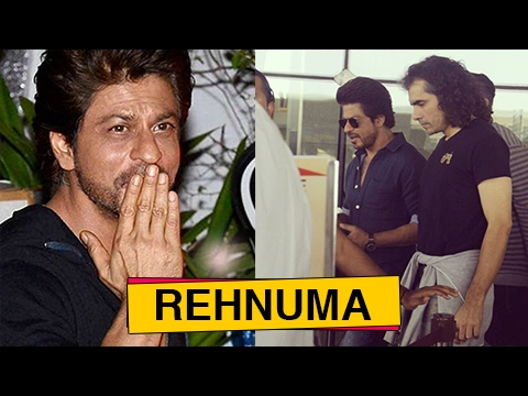 Shahrukh Khan Spotted Shooting For The Ring With I