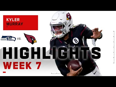 Kyler Murray SOARED Over Russell Wilson w/ 360 Passing YDs & 4 TDs | NFL 2020 Highlights