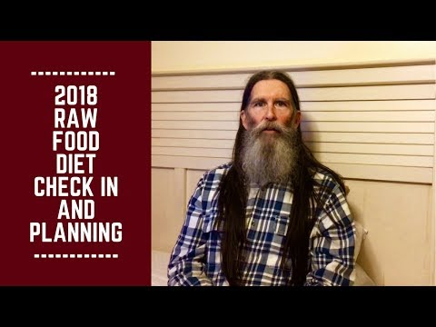 Diet plans - 2018 Raw Food Diet Check in, Adjustments and Planning