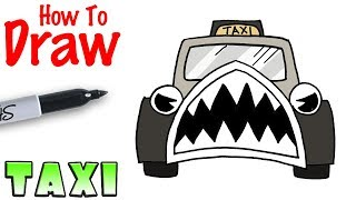 How to Draw the Taxi | Bendy in Nightmare Run