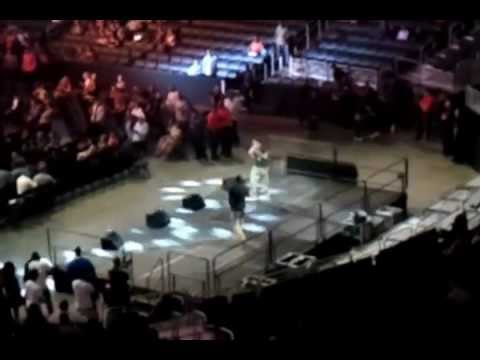 Ortiz pre fight concert