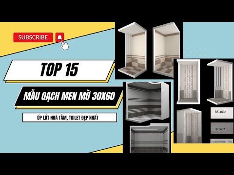 Những mẫu gạch ốp lát nhà tắm đẹp nhất 2019 | Gạch nhà vệ sinh.