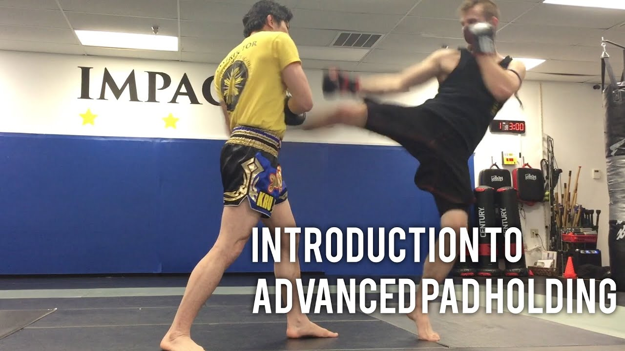 Muay Thai Kickboxing Virginia Beach Advanced Pad Holding Skills