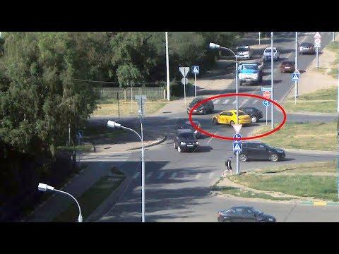 ДТП в Серпухове на улице Горького