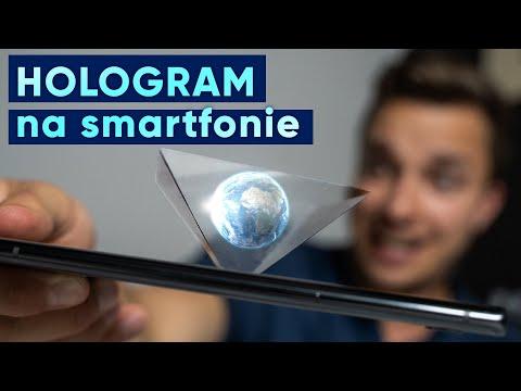 Hologram 3D na telefonie 😱 Zrobisz go w 5 minut! 🔥
