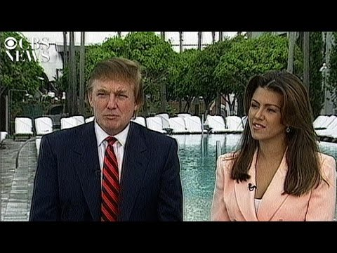 Donald Trump and Alicia Machado's 1997 interview with CBS News (видео)