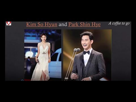 "A coffee to go "" Kim So Hyun and Park Shin Hye""- New Korean Drama"