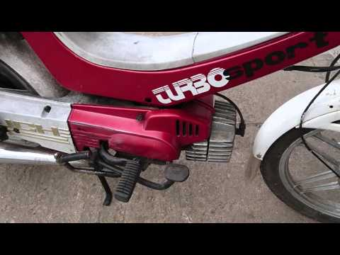 Hero puch maxi turbo sport moped