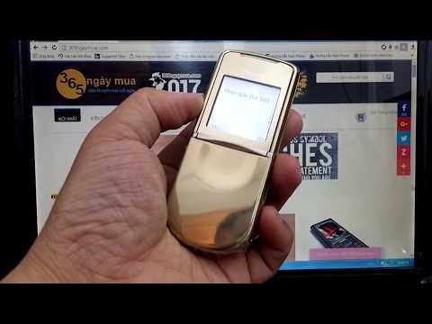 Giải đáp thắc mắc điện thoại nokia 8800 siroco gold zin chính hãng là gì ?