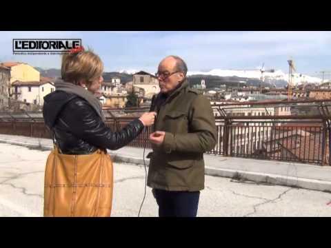 Professor Galeota su ponte di Belvedere