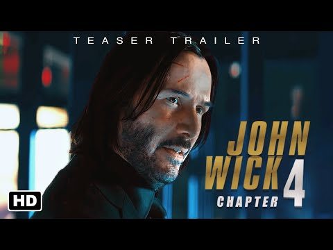 JOHN WICK: Chapter 4 - Resurrection | Trailer #1 HD | Keanu Reeves, Ian McShane
