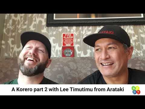 A Yarn with Lee TimuTimu Part 2