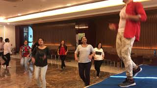 Happiness Dance Fit ® session by Karan Jodhani at H Energy group of companies