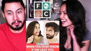 Video FILTER COPY: WHEN YOU DON'T KNOW IF SHE LIKES YOU | Reaction! MP3, 3GP, MP4, WEBM, AVI, FLV Desember 2018