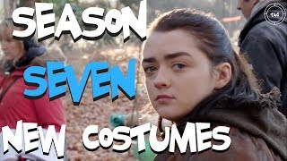 This is a Season 7 Game of Thrones Promo video HBO just published. The video explores the person responsible for creating the season 7 costumes for the cast....