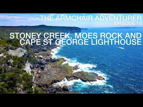 Ep.15 - Stoney Creek, Moes Rock and Cape St George Lighthouse in Booderee National Park