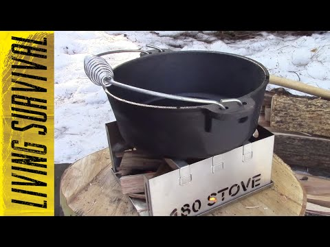 180 Tack Survival Stove Venison Chili Camp Cooking
