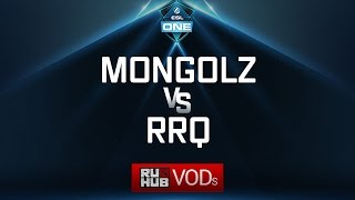 Mongolz vs RRQ, ESL One Genting Quals, game 2 [Adekvat, Inmate]