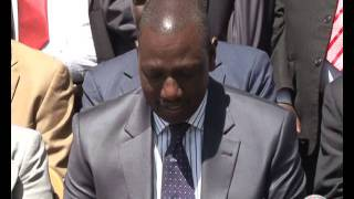 """I am a stranger to the ICC allegations"" Ruto asserts"