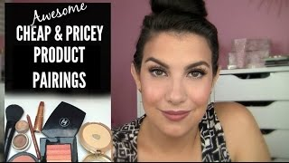 CHEAP & PRICEY Product Pairings | CHANELF & More by Beauty Broadcast