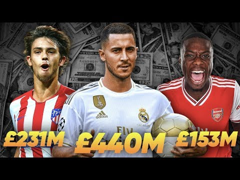 Video: 10 Clubs Who Had CRAZY Spending Sprees!