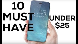 You don't have these 10 iPhone accessories?? THANK ME LATER!Gadget Deals on Everything: http://amzn.to/2f8ysW0Buy Best Car Mount: http://amzn.to/2uoSWjUBuy Best Pocket Battery: http://amzn.to/2s6Y5fMBuy Best Glass Screen Protector: http://amzn.to/2tpxRJqBuy Best Fast Charger: http://amzn.to/2uoGTU1Buy Best Longer USB Cable: http://amzn.to/2u3WRDoBuy Best Case Overall: http://amzn.to/2toZiDqBuy Best Invisible Case: http://amzn.to/2uoDft3Buy Best Protective Case: http://amzn.to/2tuRlNpBuy Best Slim Battery Case: http://amzn.to/2up1fwnBuy Best Portable Battery: http://amzn.to/2u3X8GqBuy Best Car Charger: http://amzn.to/2uoC8twGadget Deals on Everything: http://amzn.to/2f8ysW0iPhone 7 Black: http://amzn.to/2dqCThAiPhone 7 Plus Black: http://amzn.to/2e4zWkFiPhone 7 Jet Black: http://amzn.to/2dqATpxiPhone 7 Gold: http://amzn.to/2ea6U4wiPhone 6S: http://amzn.to/2e4BH1kSupport Me on Patreon for as little as $1 per month!https://www.patreon.com/TheGadgetGodFacebook: https://www.facebook.com/candyvinthegadgetgodTwitter: https://twitter.com/TheGadgetGodTwitch: https://www.twitch.tv/thegadgetgodInstagram: https://www.instagram.com/thisisvinchenzo