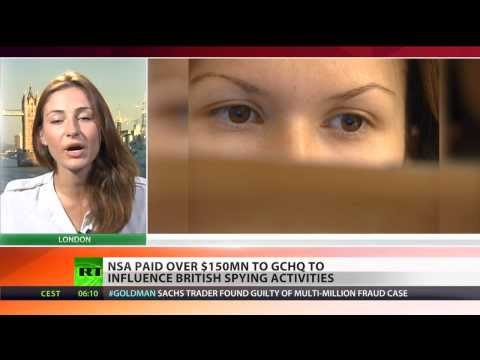 Wire Transfer: NSA paid $150 mln to GCHQ to spy on UK citizens
