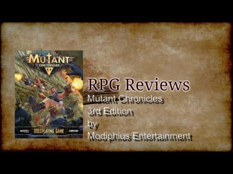 RPG Review - Mutant Chronicles 3E