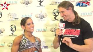 MD Latino presents ARIEL KHADAR - Women's Fitness Winner in the Miami Muscle Beach Classic. This video has her aerobic routine and interview. Look for more c...