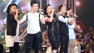 Vietnam Idol 2015 - Chung Kết & Trao Giải - Cứ thế mà đi - Thu Minh ft Idols, Viet nam Idol 2015, than tuong am nhac 2015, than tuong am nhac viet nam 2015