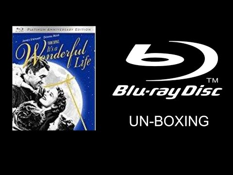 It's A Wonderful Life Platinum Anniversary Edition Blu-ray Unboxing