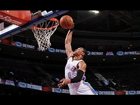 Video: Westbrook Destorys the Rim