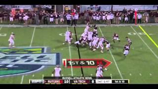 Bruce Taylor vs Rutgers (2012 Bowl) vs  Rutgers  (2012)