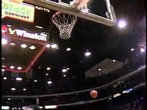 NBA灌籃大賽!喬丹經典的罰球線空中灌籃~