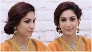 Indian Wedding Makeup Tutorial: Reception