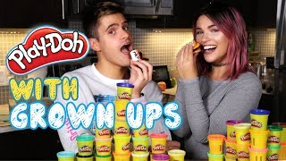 Play doh - PLAY-DOH WITH GROWN UPS