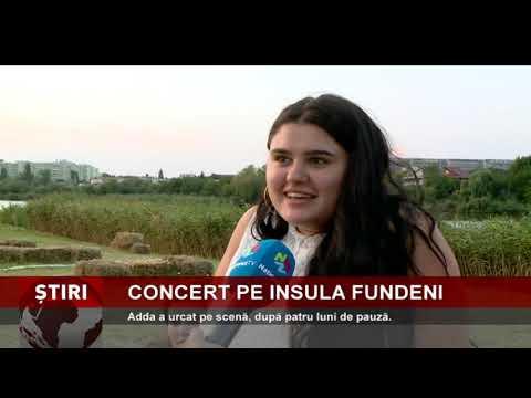 Concert Adda, pe Insula Fundeni