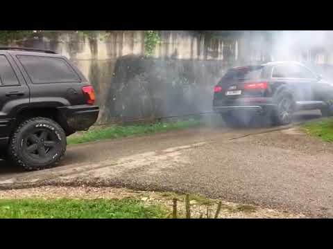 Vetokisa: Jeep Grand Cherokee 4X4 vs Audi SQ7 Quattro