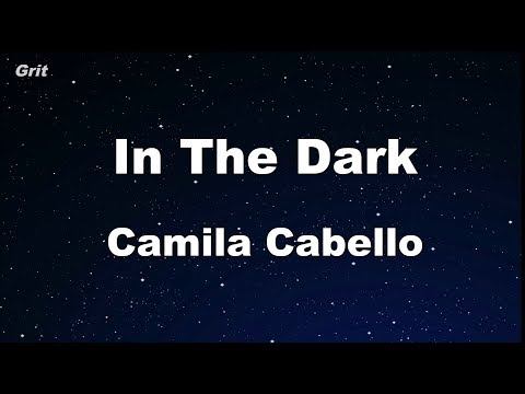 In the Dark - Camila Cabello Karaoke 【With Guide Melody】 Instrumental