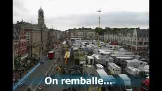 TDF 2015 CAMBRAI 7 JUILLET time lapse