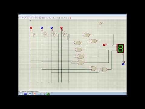Display 7 segmentos - Trabalho realizado na disciplina de Eletrônica Digital (Faculdade Área 1) - Victory Fernandes, onde é mostrado a utilização do código passo completo 1 para a...