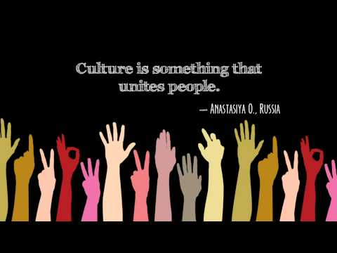 culture - This video illustrates a conversation that took place on ExchangesConnect (http://connect.state.gov), an international community managed by the U.S. Departme...