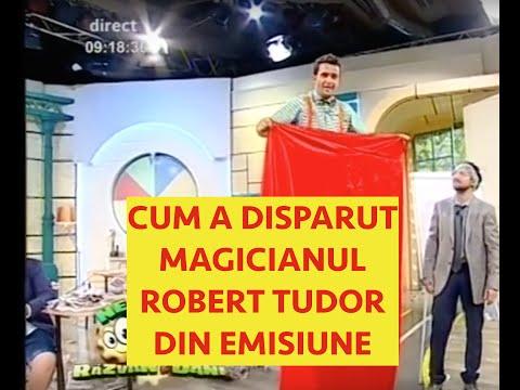 MAGICIANUL ROBERT TUDOR LA RAZVAN SI DANI