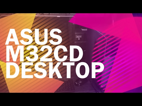 Asus M32CD Desktop PC - Unboxing, Use, and Review (Cyber Monday Deal)