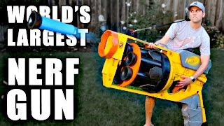"""مهندس من """"ناسا"""" يصنع أكبر مسدس فى العالم"""