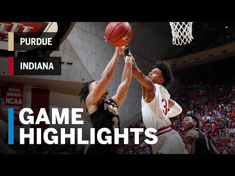 Highlights: Purdue at Indiana | Big Ten Basketball