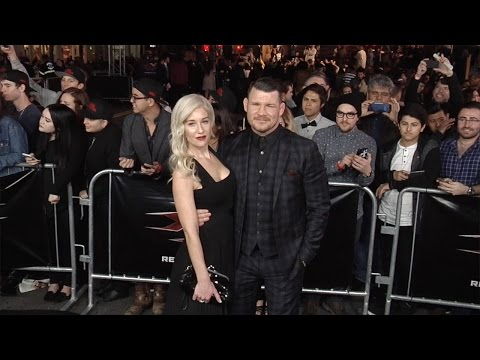 Michael Bisping and Rebecca Bisping