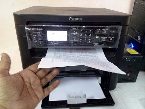 Canon MF221d Testing, Print Speed, Duplex Printing, Copying
