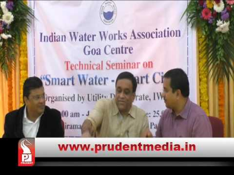 Sudin Dhavlikar says water wastage will be reduced to 15percentage from 27percentage unaccounted water