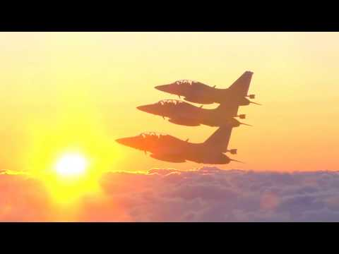 ROK Air Force - FA-50 Light Attack Aircrafts New Year Flight 2018 [1080p]